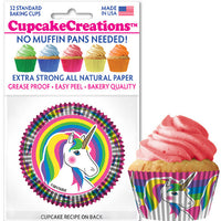 Unicorn Baking Cups 32 Ct
