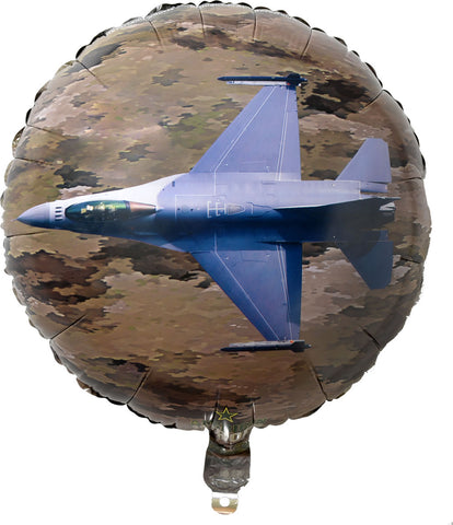 2 Sided US Army Mylar Balloon