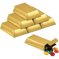 Foil Gold Bar - Favor Boxes/ 12 Pieces