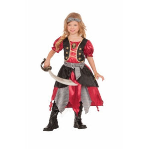 Buccaneer Princess Girls Costume