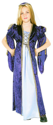 Blue Renaissance Princess Juliet Kid's Costume
