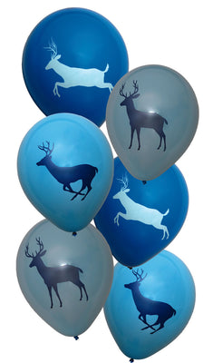 Buck Baby Shower Latex Balloons