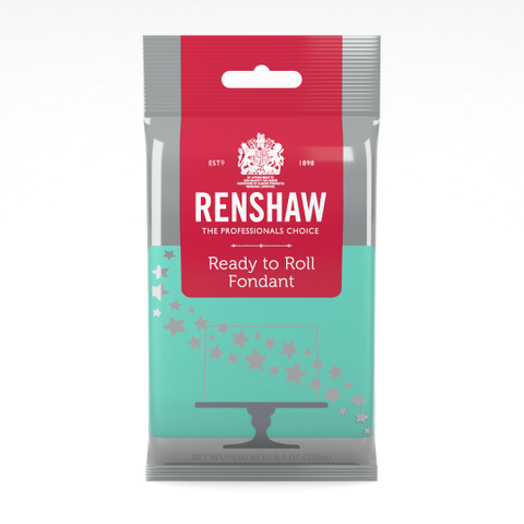 Renshaw - Ready To Roll Fondant - 8.8 oz. Available in 6 Colors