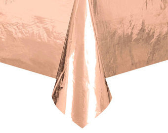 Rose Gold Metallic Tablecover