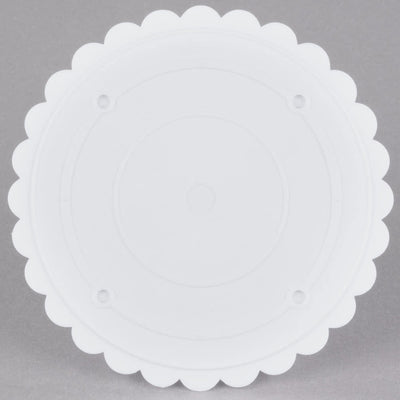 Separator Plate - Scalloped Edge - 6 Inch.