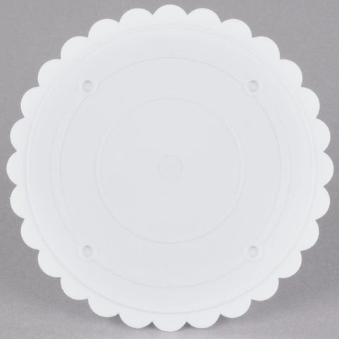 Separator Plate - Scalloped Edge - 8 Inch.