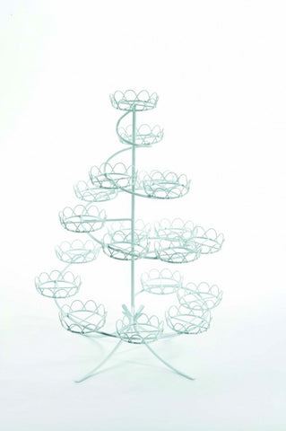 Spiral Wire Cupcake Stand