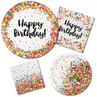 Sprinkles Party - Treat Bags/ 10 Count-6.5 x 9