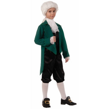 Thomas Jefferson Deluxe Kid's Costume
