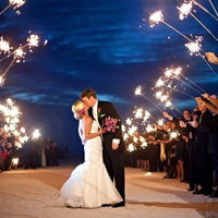 "96 Piece Pack - Deluxe Wedding Sparklers- 16 Packs of 6 Sparklers/ 36"" Long"
