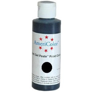 AmeriColor Gel  Paste Superblack  0.75 oz.