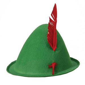 Green October-Fest  Hat/ Alpine Hat -