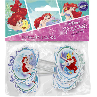 Disney Princess - Ariel Cake Picks/24 Picks