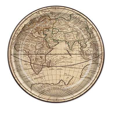 "Around The World - 9"" Plates/8 Count"