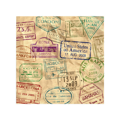 Around The World - Luncheon Napkins / 16 Count/2 Ply