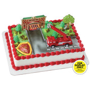 Fire Truck Cake Topper Kit
