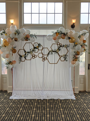 Copper Backdrop Stand | Rental