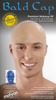 Mehron Professional Bald Cap Kit