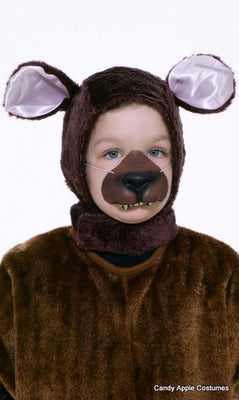 Animal Disguise Kit - Brown Bear - Children's