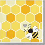 Bumble Bee Party Beverage Napkins
