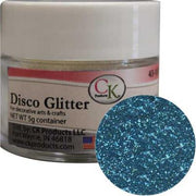 Disco Glitter Blue Topaz For Cakes