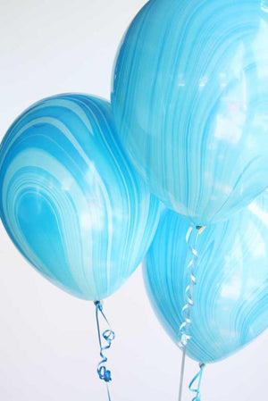 Latex Marbled Balloons/10 per pack/ Helium Quality