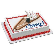 Bowling Party Cake Topper Kit