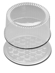 Clear Cake Dome With Locking Lid 10 in