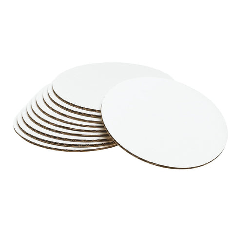 "12"" inch Round Cardboard Cake Pads (20ct)"