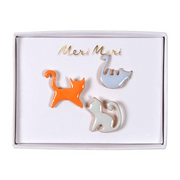 Fancy Cat Pins - 3 Pins
