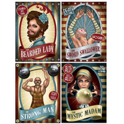 Vintage Circus Posters/ 4 Count