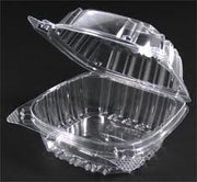 Dart Clear Plastic Hinged Lid Cake Slice Containers (25 ct)