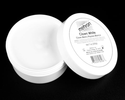 Mehron Clown White 7 oz Jar