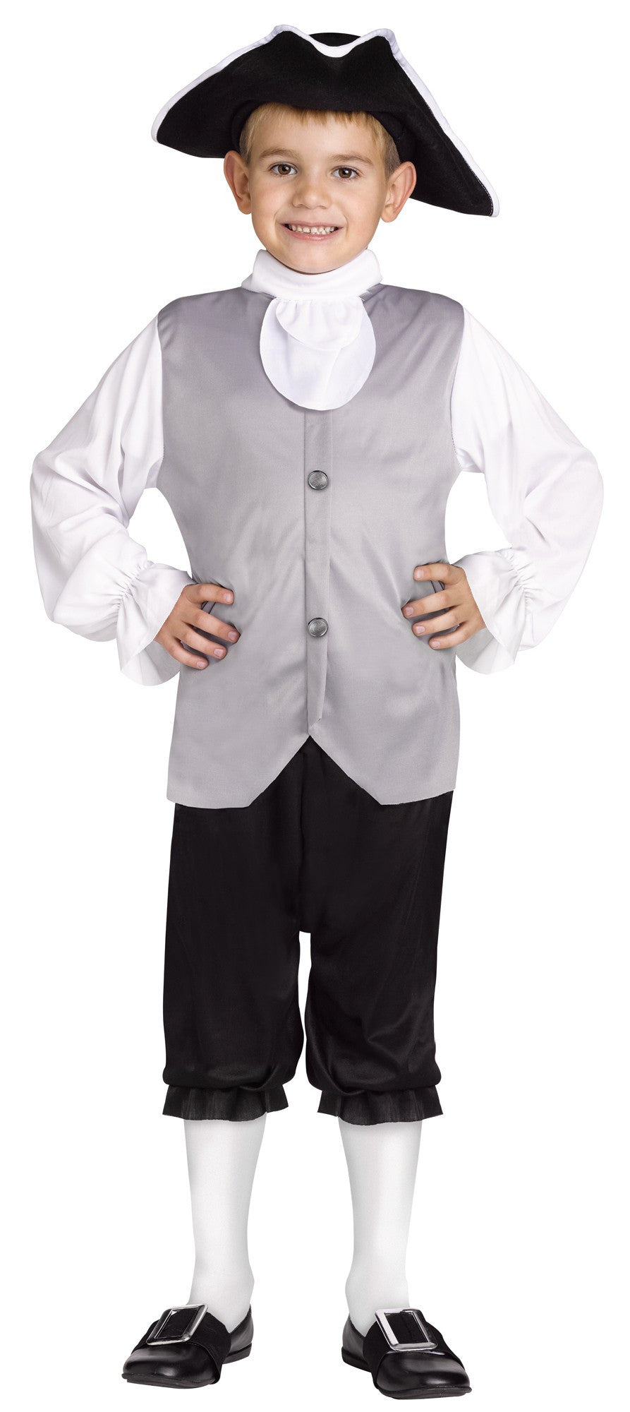 Classic Colonial Boy Kid's Costume