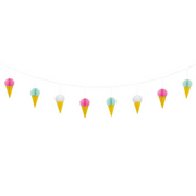 Ice Cream Honeycomb Garland/7 feet