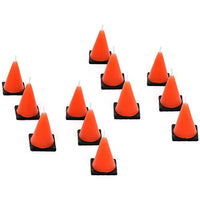Traffic Cone Candles - 6 Count