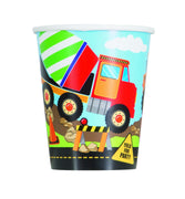 Construction Party - Paper Cups/8 Count/9 oz.