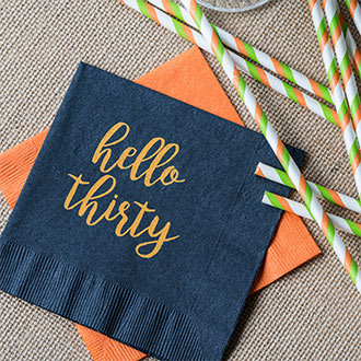 Custom 3-Ply Napkins & Guest Towels