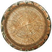 "Rustic Cut Timber 7"" Salad Plates/ 8 Count"