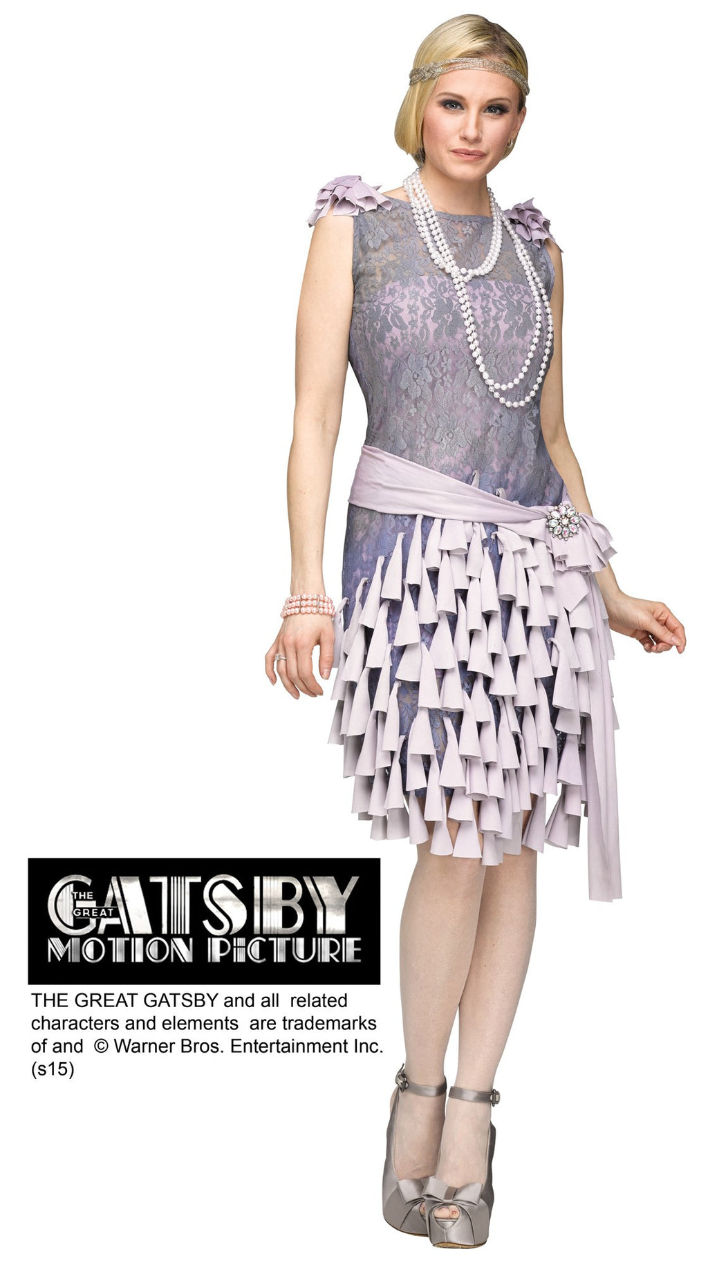 Daisy Buchanan Great Gatsby Flapper Adult Costume