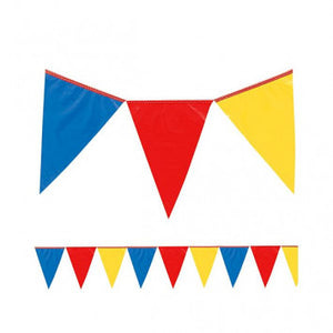 Giant Outdoor Pennant Banner 120 Feet Multi Color