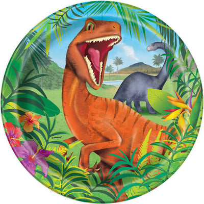 Dinosaur Party Lunch Plate