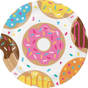 Fun Donut Party Large Plates