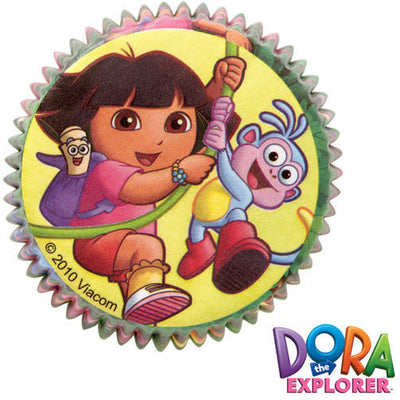 Dora the Explorer Baking Cups 50 Count