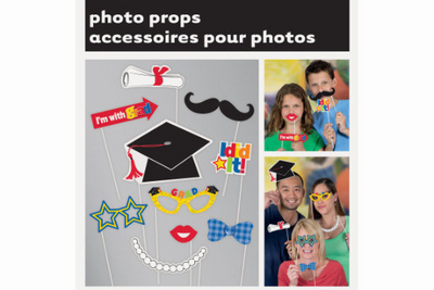 Graduation Photo Booth Props   10 props | Includes cut-outs with sticks