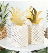 Pineapple Treat Boxes/ 4 Count