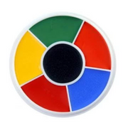 Rainbow Wheel Make-Up Wheel / Ben Nye Professional Wheel / Rainbow Make Up