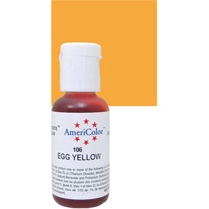 AmeriColor Egg Yellow Gel Paste 0.75oz