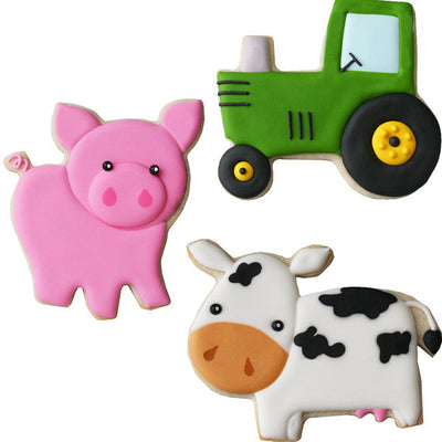 Farm Cookie Cutter Set - 3 Cutters