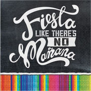 Fiesta Like There Is No Manana - Luncheon Napkins - 16 Count 2 Ply